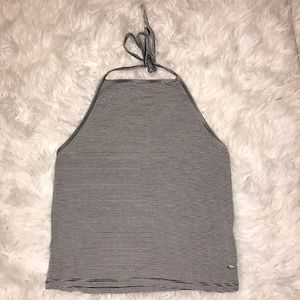 American Eagle halter crop top